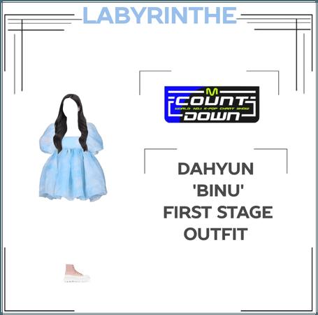Dahyun 'binu' first stage