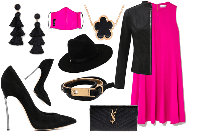 Night Out: Neon Pink and Black