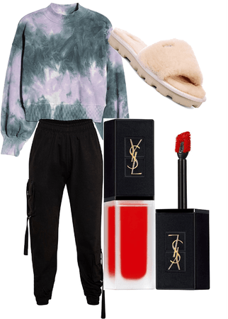 stay home comfortable outfit