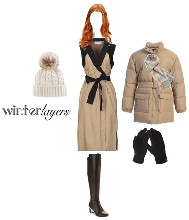 Sophisticated/Bold Winter Layers