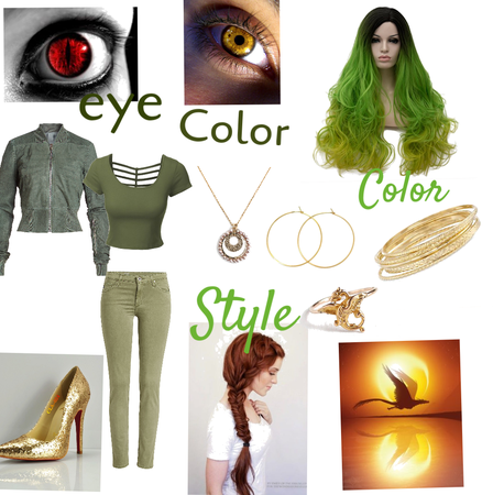 Saphera Jade OC mutant