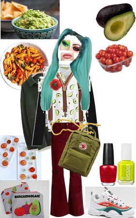 Avocado and Tomato 🥑🍅