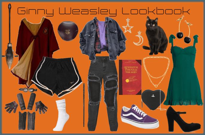 Ginny Weasley Lookbook