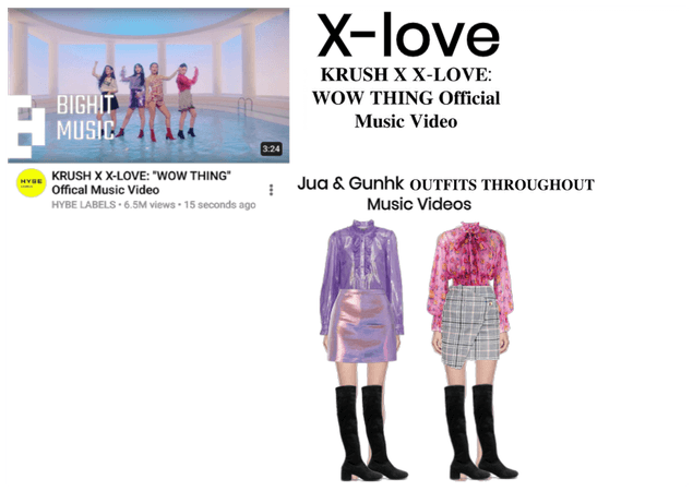 X-LOVE X KRUSH : ''WOW THING'' MUSIC VIDEO