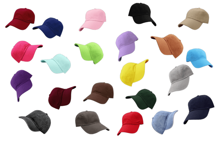 22 hats on the wall