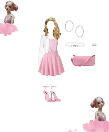 Bandanna in Barbie pretty vibes look idea by g.o. 2021