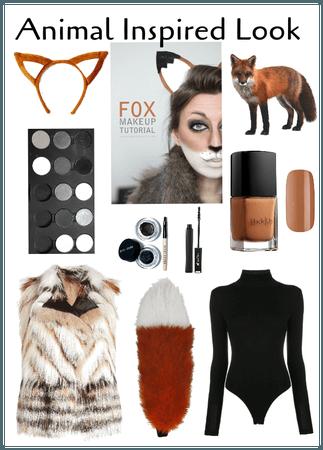 Animal Inspired Look-Fox