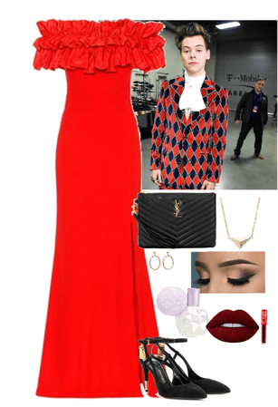 Harry's red carpet date