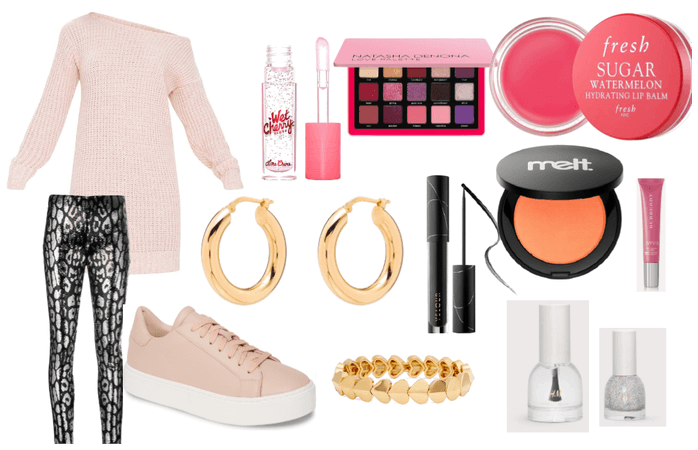 Pink and glam