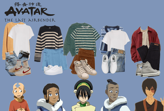avatar inspired outfits