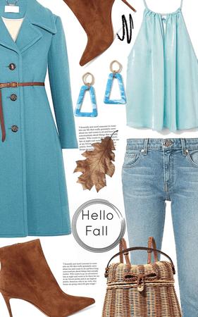 hello fall blue