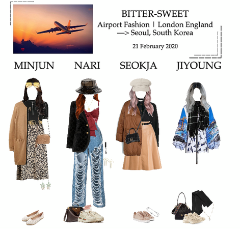 BITTER-SWEET [비터스윗] Airport Fashion 200221