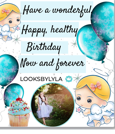 Happy birthday 🎁 dear @looksbylyla