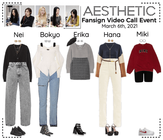 AESTHETIC (미적) [FANSIGN VIDEO CALL EVENT]