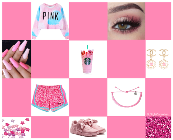 All pink all the time