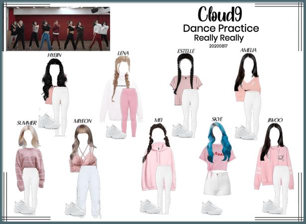 Cloud9 (구름아홉)  Really Really Danc Practice   81720