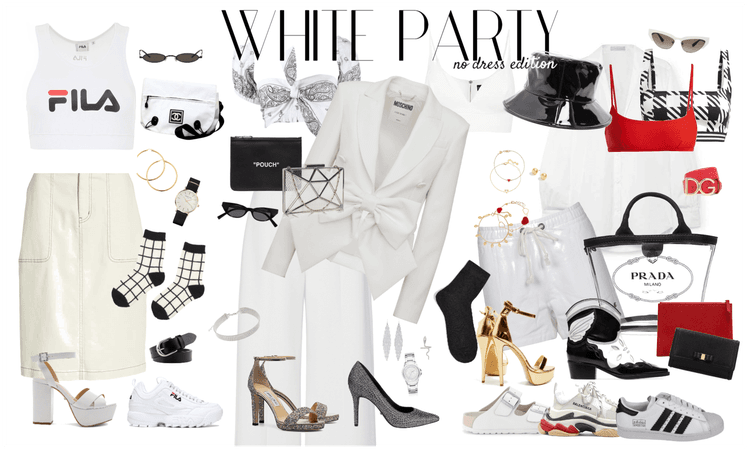 White Party, no dress edition