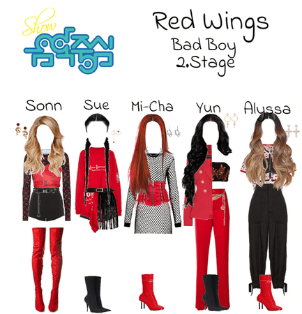 """Red Wings """"Bad Boy"""" 2. Stage at Show! Music Core"""