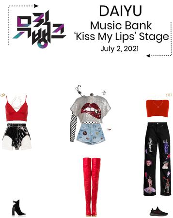 DAIYU//'Kiss My Lips' Music Bank Stage