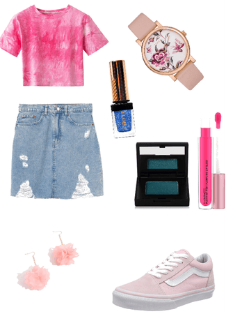 pink and blue challenge 💙💗