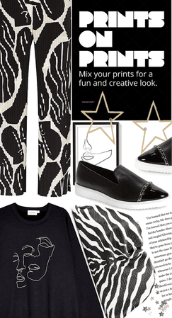 Prints on prints [relaxed look]