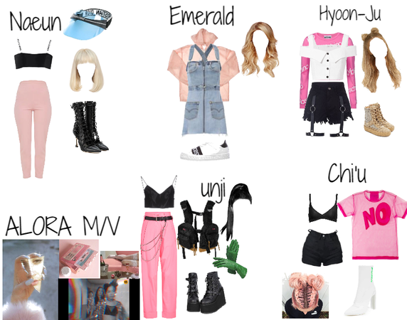 Pink Lady M/V || Fake K-Pop Girl Group ALORA