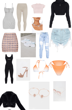 plt (pretty little thing) outfits and other