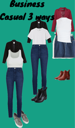 business Casual 3 ways