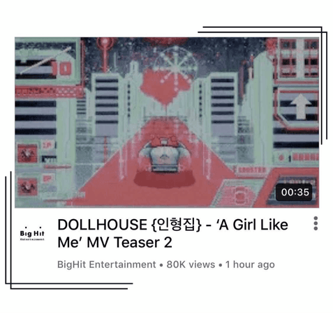 {DOLLHOUSE} 'A Girl Like Me' MV Teaser #2