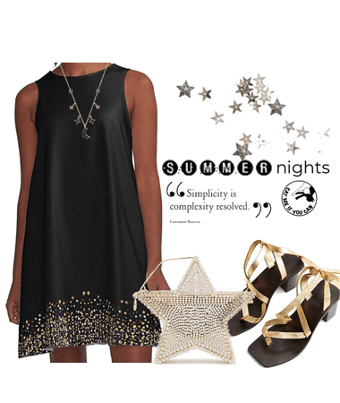 Cat Me Stars Dress by CAT ME IF YOU CAN DESIGNS