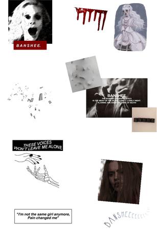 Banshee aesthetic 🗣⚪️🌹
