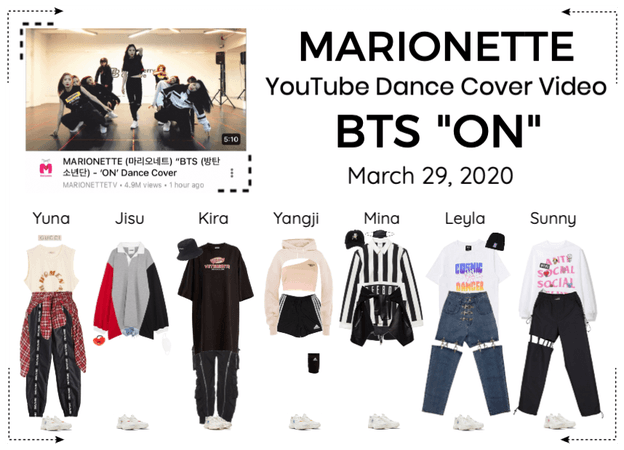 "MARIONETTE (마리오네트) BTS ""ON"" Dance Cover Video"