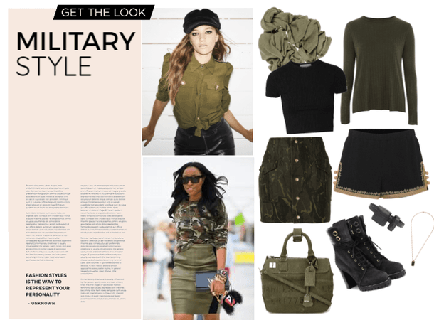Armed Forces Day : Military Style