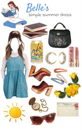Belle's Summer Dress