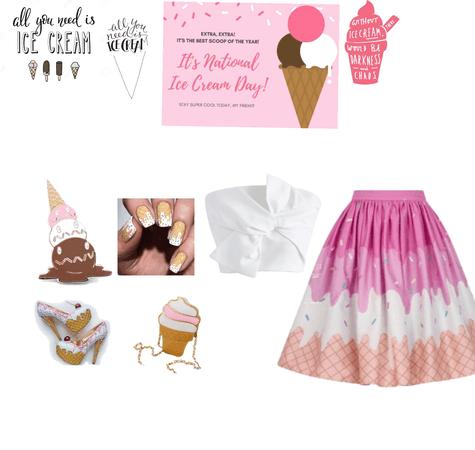 I scream u scream we all scream for ice cream 🍦 😱