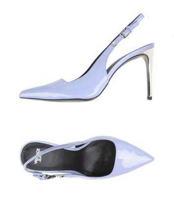 Versace Jeans Slingback Pump in Lilac
