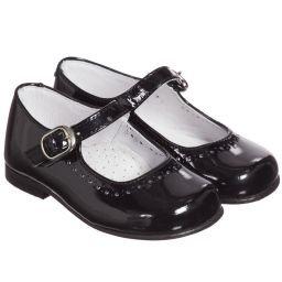Children's Classics - Black Patent Leather Shoes | Childrensalon