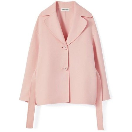 Pink Blazer Coat