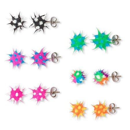 early 2000s rubber earrings - Google Search