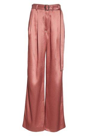 Sies Marjan Blanche Wide Leg Twill Pants | Nordstrom