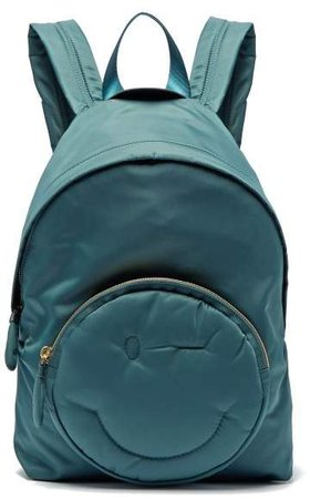 Chubby Wink Backpack - Womens - Dark Green