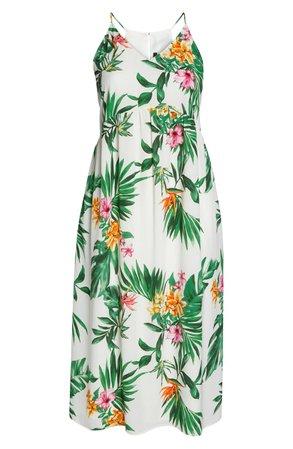 Gibson x Hi Sugarplum! Palm Springs Festival Maxi Dress (Plus Size) (Nordstrom Exclusive) | Nordstrom