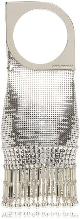 Paco Rabanne Op'Art Mini Mesh Clutch