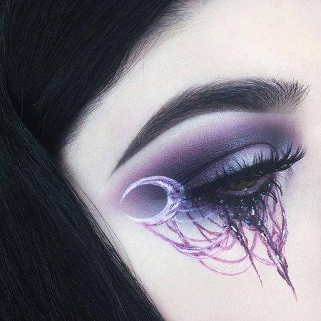 Macabre Moon Eye Makeup