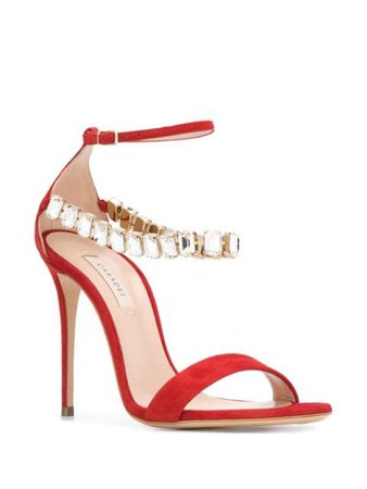 Casadei Blade Luxe sandals $890 - Buy Online - Mobile Friendly, Fast Delivery, Price