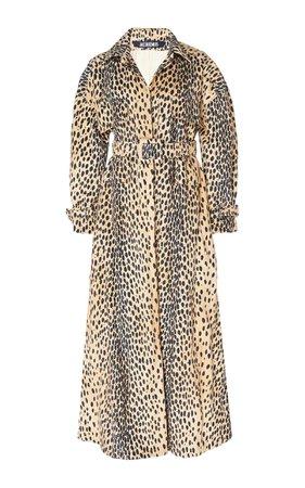 jacquemus leopard coat