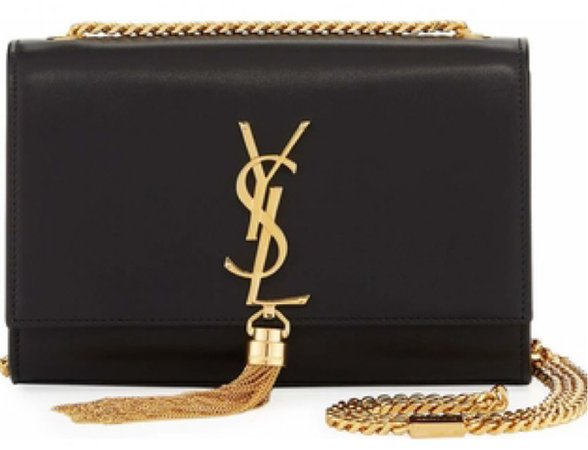 black YSL crossbody