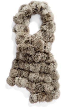 Genuine Rabbit Fur Scarf