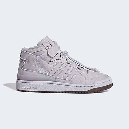 adidas Forum Mid Shoes - Grey | adidas US