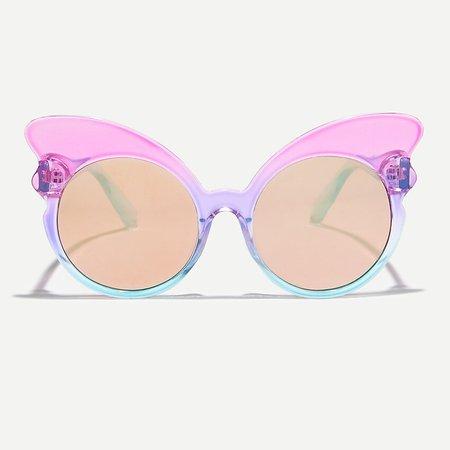 J.Crew: Girls' Butterfly Sunglasses